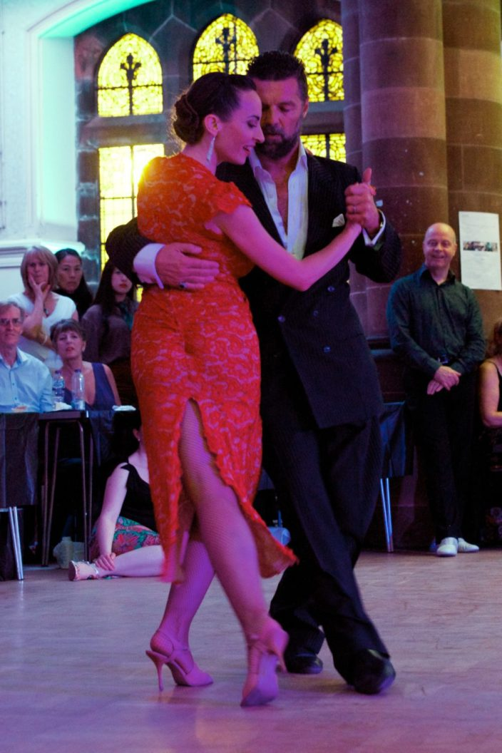 Paisley International Tango Festival 26.8.17 Diego (El Pajaro) Reimer and Natalia Cristobal Rive